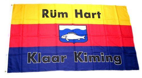 Fahne / Flagge Rüm Hart Klaar Kiming 90 x 150 cm