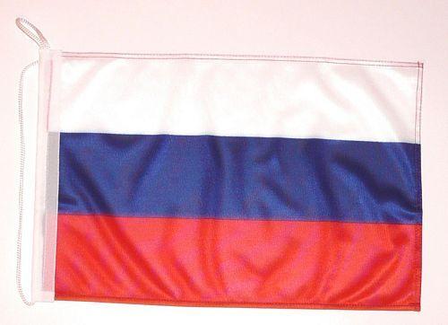 Bootsflagge Russland 30 x 45 cm