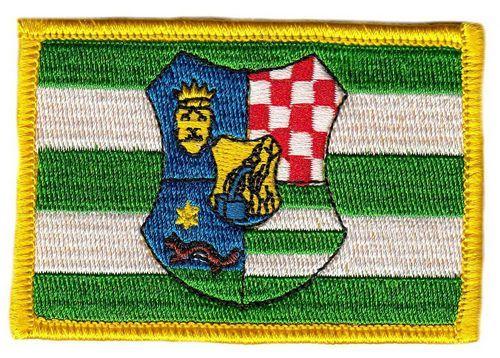 Fahnen Aufnäher Kroatien - Zagreb