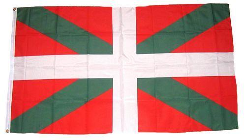 Fahne / Flagge Spanien - Baskenland 90 x 150 cm