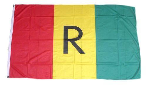 Fahne / Flagge Ruanda alt 90 x 150 cm