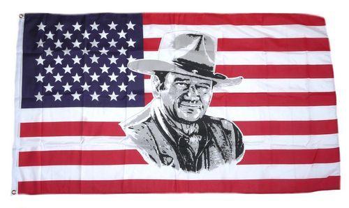 Fahne / Flagge USA - John Wayne 90 x 150 cm
