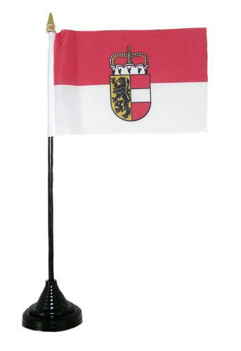 Tischfahne Österreich - Salzburg 11 x 16 cm Fahne Flagge