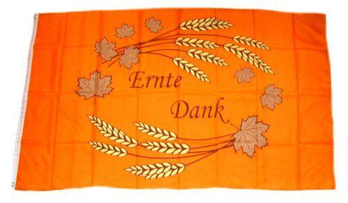 Fahne / Flagge Ernte Dank 90 x 150 cm