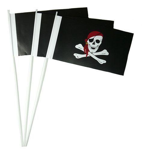 Papierfahnen Pirat Kopftuch