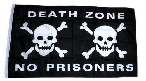 Fahne / Flagge Pirat Death Zone 90 x 150 cm