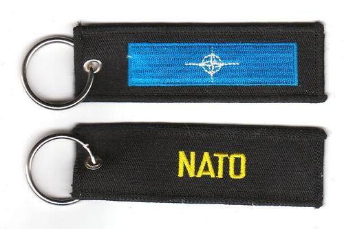 Fahnen Schlüsselanhänger NATO