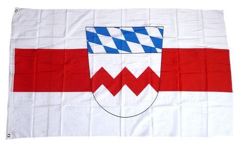 Flagge / Fahne Landkreis Dachau Hissflagge 90 x 150 cm