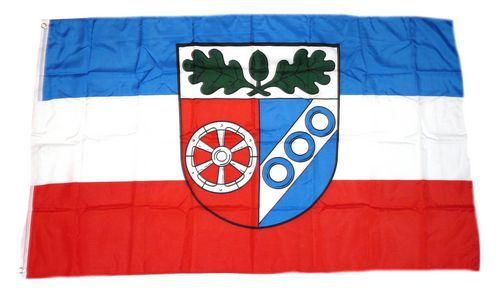 Flagge / Fahne Landkreis Aschaffenburg Hissflagge 90 x 150 cm
