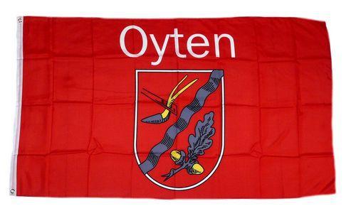 Flagge / Fahne Oyten Hissflagge 90 x 150 cm