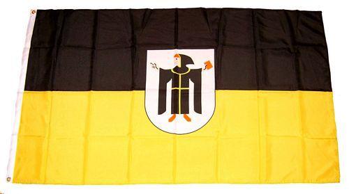 Flagge / Fahne München Wappen Hissflagge 90 x 150 cm