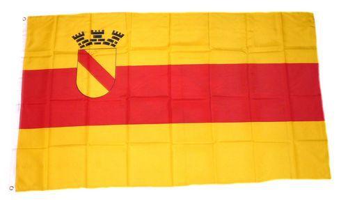 Flagge / Fahne Baden Baden Hissflagge 90 x 150 cm