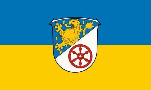 Fahne / Flagge Rheingau Taunus Kreis 90 x 150 cm