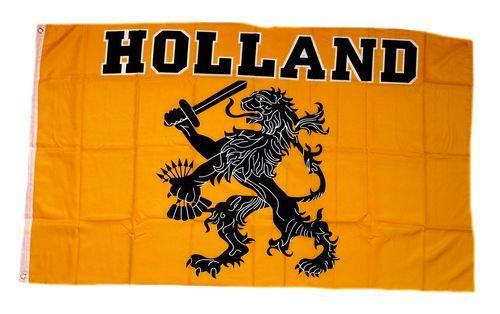 Fahne / Flagge Holland Oranje 90 x 150 cm