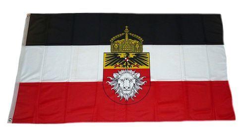 Fahne / Flagge Deutsch Ostafrika Krone 90 x 150 cm
