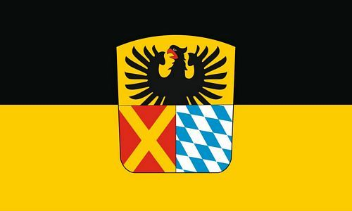 Fahne / Flagge Landkreis Donau-Ries 90 x 150 cm