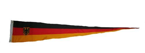 Langwimpel Deutschland Adler 30 x 150 cm