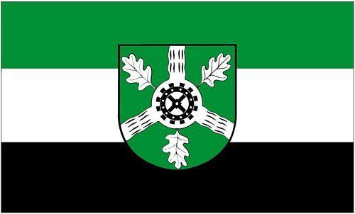 Fahne / Flagge Aumühle 90 x 150 cm