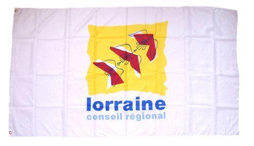 Fahne / Flagge Frankreich - Region Lorraine 90 x 150 cm