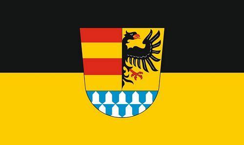 Fahne / Flagge Landkreis Weißenburg Gunzenhausen 90 x 150 cm