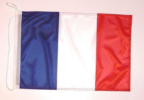 Bootsflagge Frankreich 30 x 45 cm