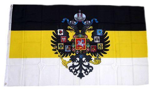 Fahne / Flagge Russland Romanow Wappen 90 x 150 cm