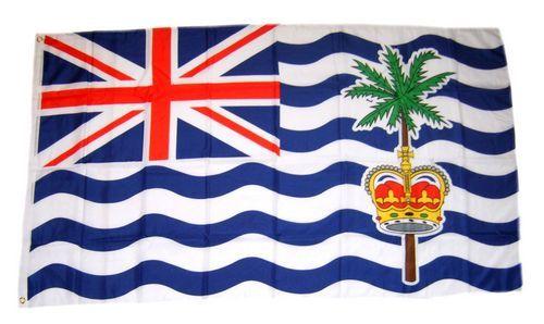 Fahne / Flagge Britisches Territorium Indischer Ozean 60 x 90 cm