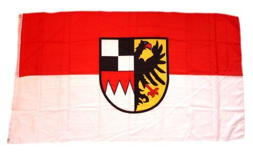 Flagge / Fahne Mittelfranken Hissflagge 90 x 150 cm