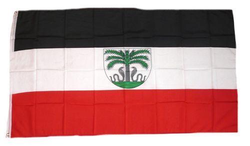 Fahne / Flagge Deutsch Togo 90 x 150 cm