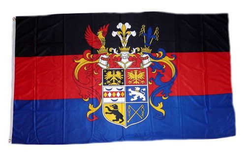 Flagge / Fahne Ostfriesland Prachtwappen Hissflagge 90 x 150 cm