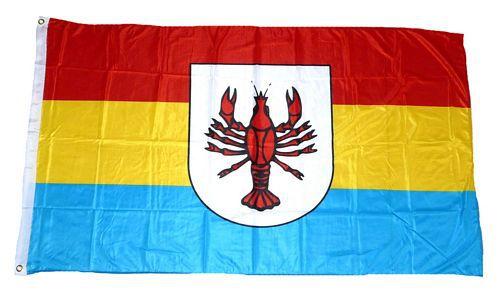 Flagge / Fahne Bad Wurzach Hissflagge 90 x 150 cm