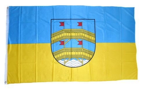 Flagge / Fahne Aue Erzgebirge Hissflagge 90 x 150 cm