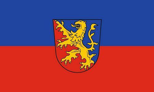 Fahne / Flagge Rhein Lahn Kreis 90 x 150 cm