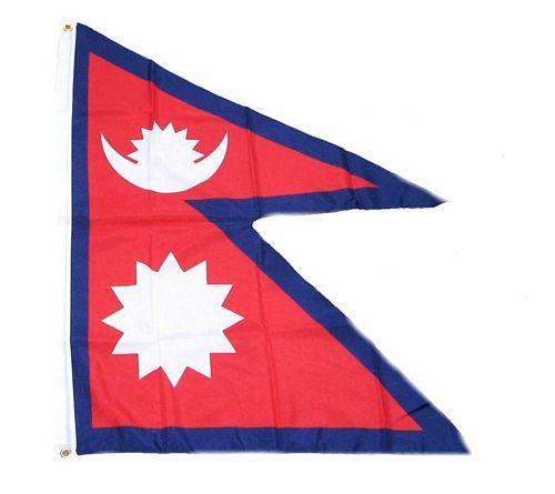 Flagge / Fahne Nepal Hissflagge 90 x 150 cm