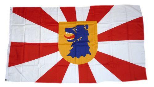 Flagge / Fahne Scharbeutz Hissflagge 90 x 150 cm