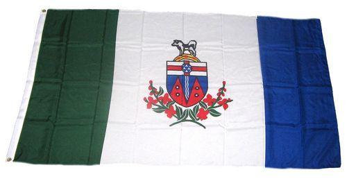 Flagge Fahne Kanada - Yukon 90 x 150 cm