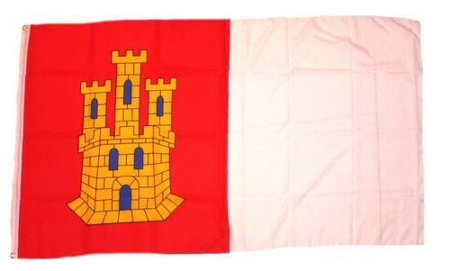 Fahne / Flagge Spanien - Kastilien La Mancha 90 x 150 cm
