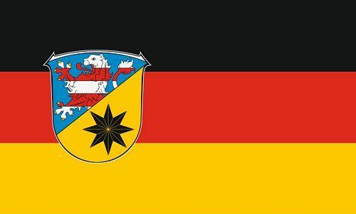 Fahne / Flagge Landkreis Waldeck Frankenberg 90 x 150 cm