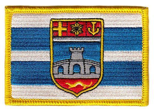 Fahnen Aufnäher Kroatien - Osijek Baranja