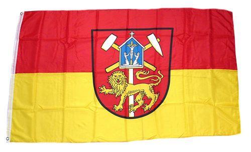 Flagge / Fahne Clausthal Zellerfeld Hissflagge 90 x 150 cm