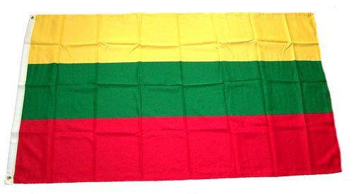 Flagge / Fahne Litauen Hissflagge 90 x 150 cm