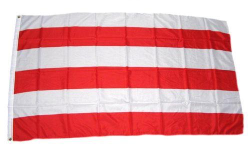 Flagge / Fahne Wismar Hissflagge 90 x 150 cm