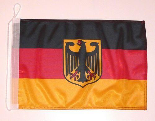 Bootsflagge Deutschland Adler 30 x 45 cm