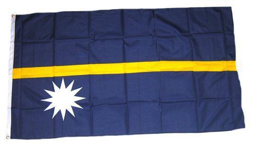 Flagge / Fahne Nauru Hissflagge 90 x 150 cm