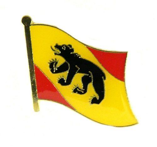 Flaggen Pin Fahne Schweiz - Bern Anstecknadel Flagge