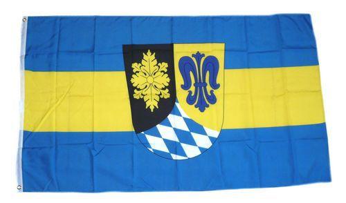 Flagge / Fahne Landkreis Unterallgäu Hissflagge 90 x 150 cm