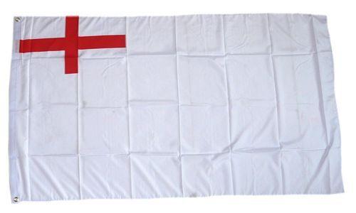 Fahne / Flagge Großbritannien White Ensign 1630-1702 90 x 150 cm
