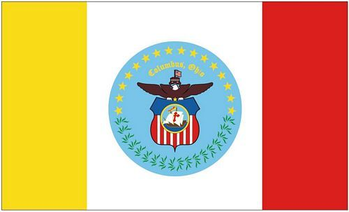 Fahne / Flagge USA - Columbus 90 x 150 cm