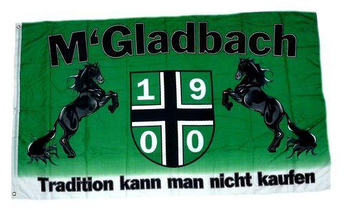 Fahne / Flagge Gladbach Tradition 1900 90 x 150 cm