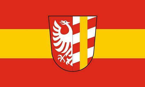 Fahne / Flagge Landkreis Günzburg 90 x 150 cm